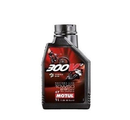 NHỚT TAY GA MOTUL 300V2 FACTORY LINE 4T 10W50 1L