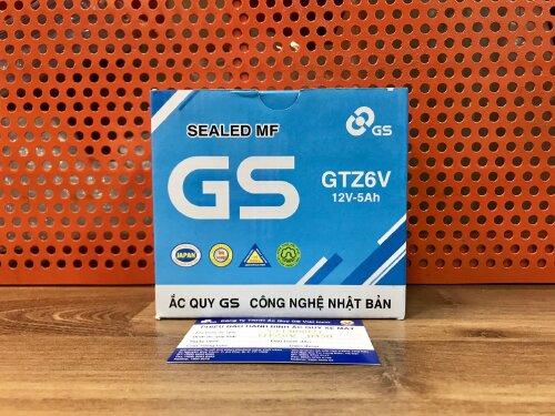 BÌNH ẮC QUY GS GTZ6V (LEAD,PCX,5CR...)