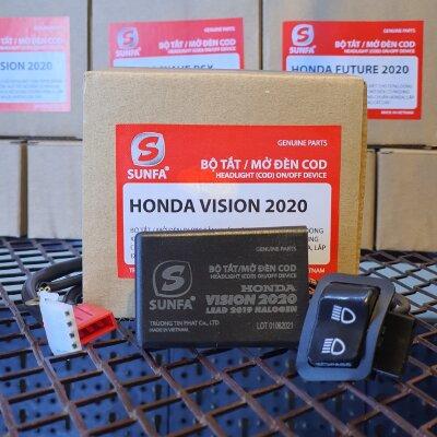BỘ TẮT MỞ ĐÈN SUNFA - VISION 2020 - 2021, LEAD HALOGEN